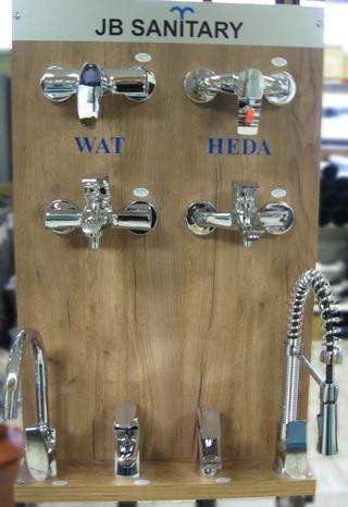 Náhradní díly na vodovodní baterie
